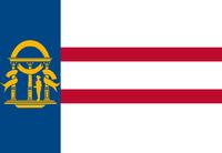 1902-1906 Georgia Flag