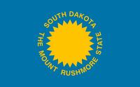 Flag of South Dakota (alt) (1.5)