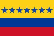 Flag of Venezuela 1817