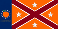Georgia State Flag Proposal No 20e Designed By Stephen Richard Barlow 24 NOV 2014 at 1330 hrs cst