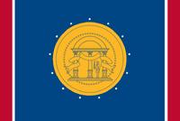 2001-2003 Georgia Flag