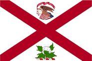 Alabama Governor Flag old Standard