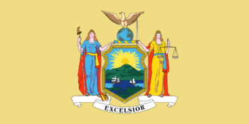 New York state flag 1778-1901