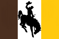 Wyoming State Flag Proposal No 3 Designed By Stephen Richard Barlow 07 OCT 2014 at 1507hrs cst
