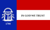 Georgia State Flag Proposal No 5 750px Designed By Stephen Richard Barlow 25 AuG 2014 at 1527hrs cst