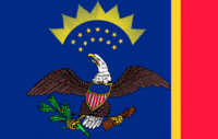 North Dakota State Flag Proposal No 4 Designed By Stephen Richard Barlow 18 AuG 2014 at 0850hrs cst