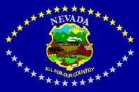 Flag of Nevada (1915-1929)