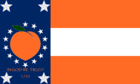 Georgia State Flag Proposal No 31 Designed By Stephen Richard Barlow 29 AuG 2014 at 0754hrs cst