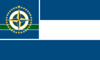 Minnesota State Flag 32 star Proposal No 1 Designed By Stephen Richard Barlow 17 AuG 2014