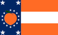 Georgia State Flag Proposal No 40 Designed By Stephen Richard Barlow 05 SEP 2014 at 0936hrs cst
