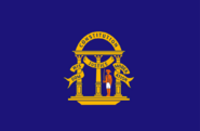 Georgia State Flag Non-Official Prior to 1879