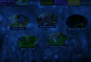 Faerie Age map during Halloween