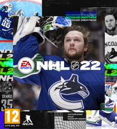 NHL 22 fanmade cover