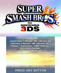 320px-Super Smash Bros 3DS title screen.png