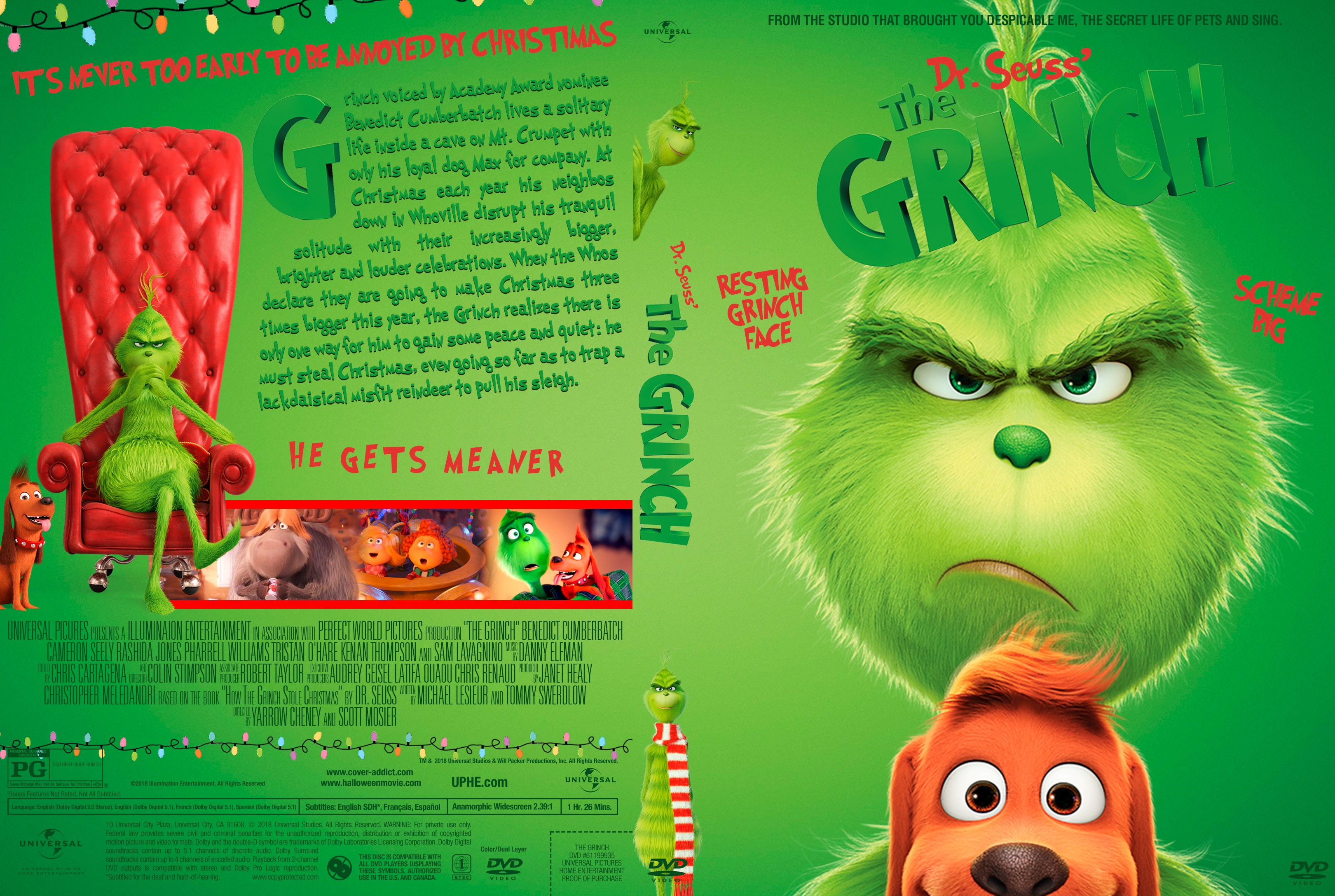 The Grinch DVD 2019