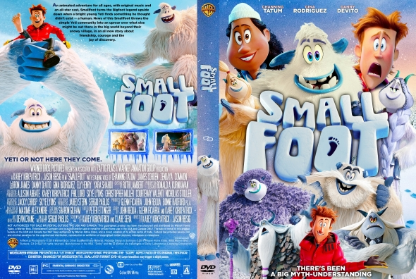 Smallfoot Dvd 2018 Vhs And Dvd Credits Wiki Fandom