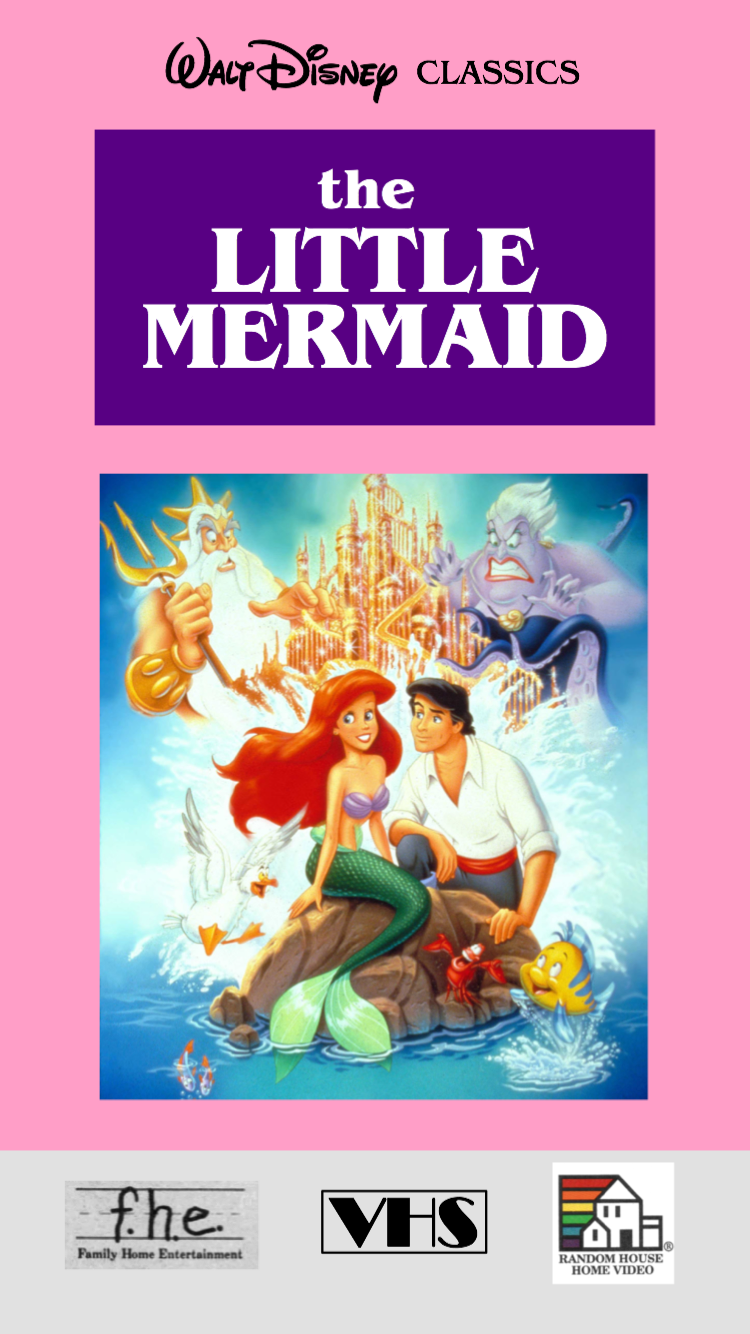 The Little Mermaid VHS 1990 (Demo Copy)