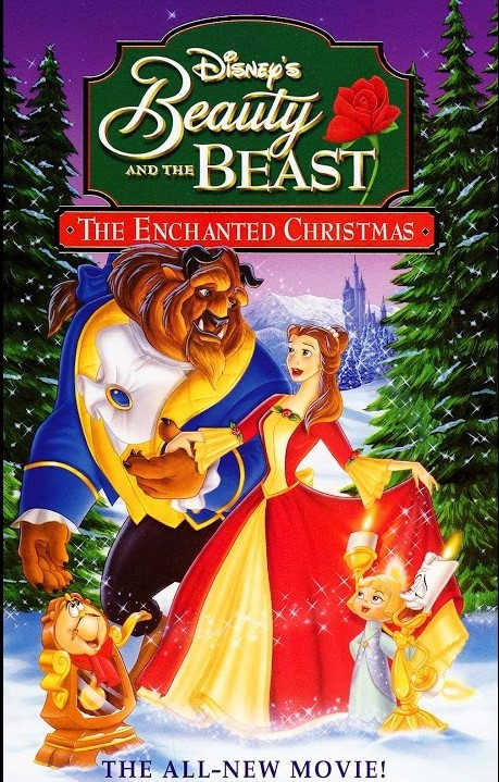 Beauty and the Beast: The Enchanted Christmas VHS 1997