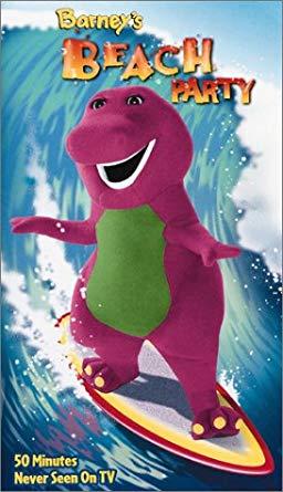 Barney's Beach Party VHS 2002
