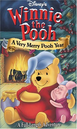 Winnie the Pooh: A Very Merry Pooh Year VHS 2002