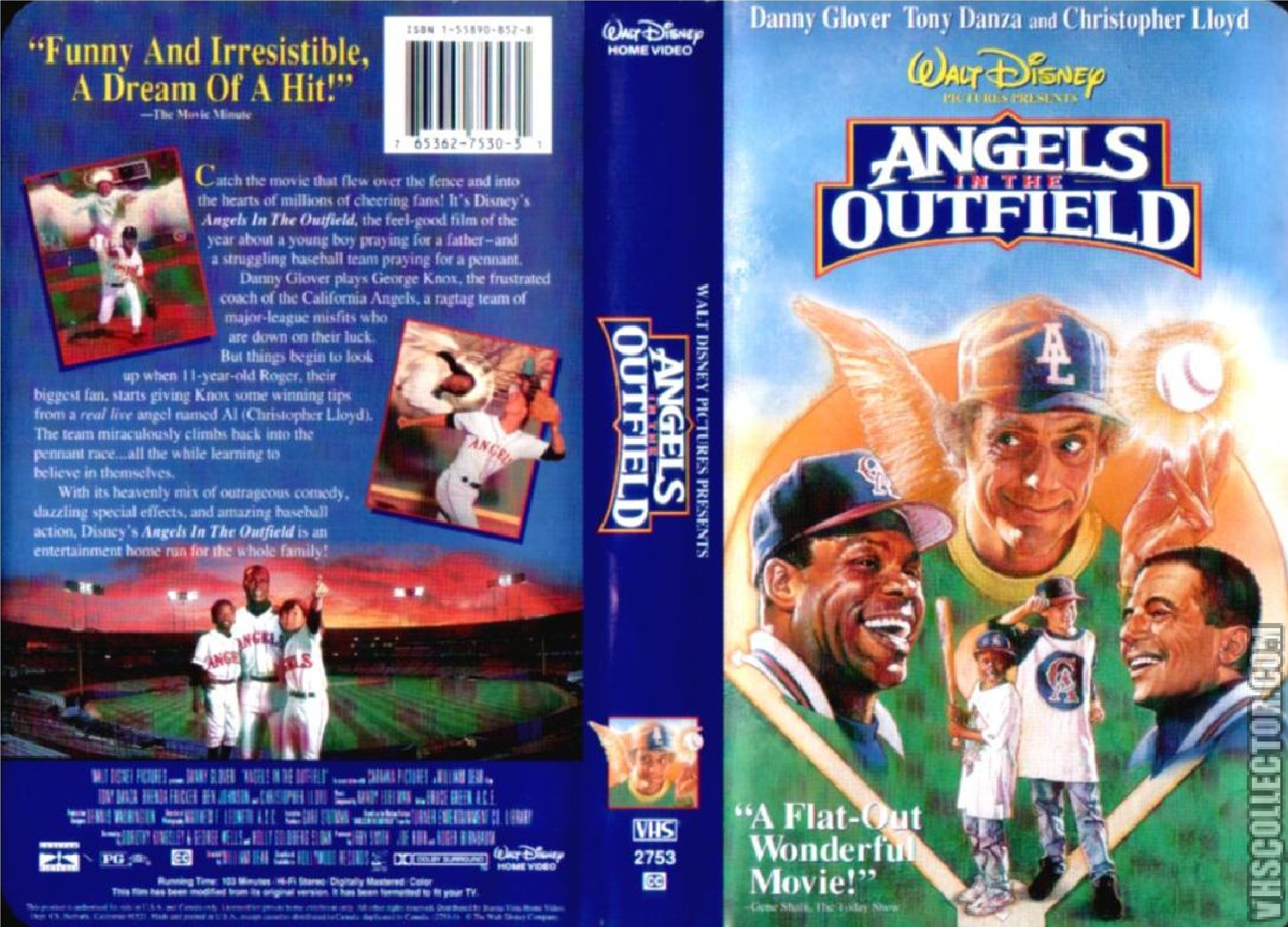 Angels in the Outfield VHS 1995