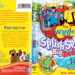 The Wiggles: Splish Splash Big Red Boat DVD 2006