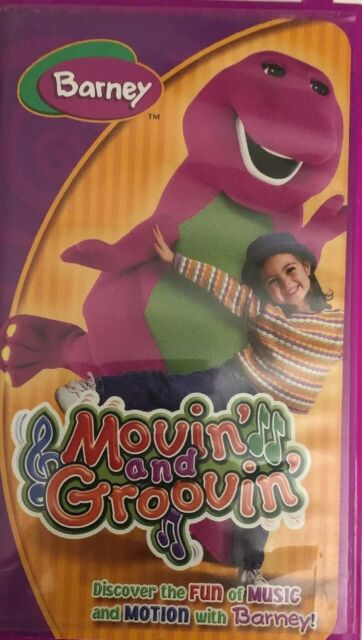 Barney's Movin' and Groovin' VHS 2004