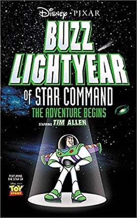 Buzz Lightyear of Star Command: The Adventure Begins VHS 2000