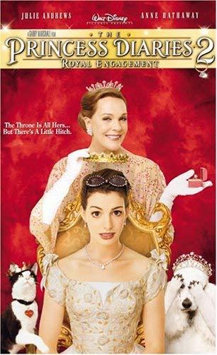 The Princess Diaries 2: Royal Engagement VHS 2004