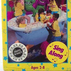 Barney in Concert VHS 1992