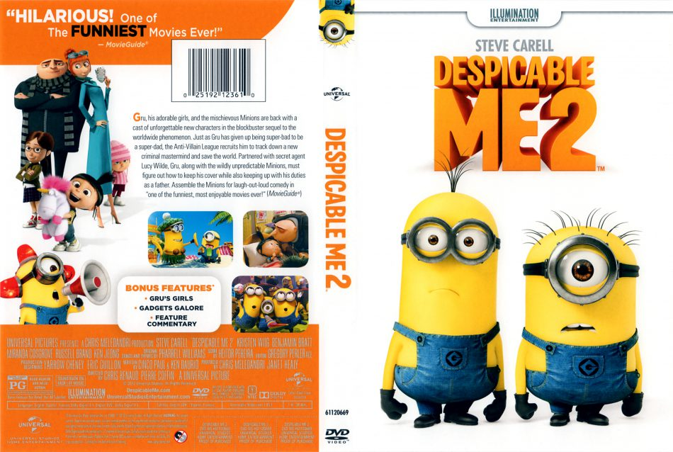 Despicable Me 2 DVD 2013