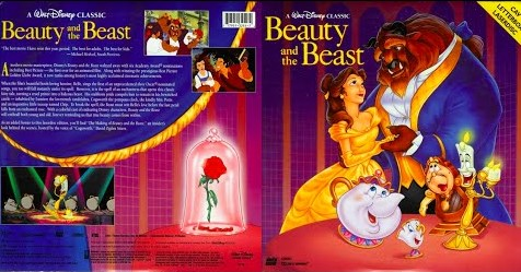 Beauty And The Beast Laserdisc 1992