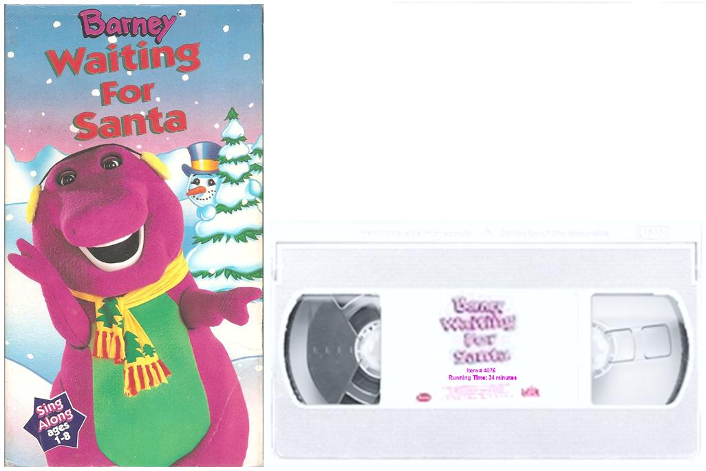Barney: Waiting for Santa VHS 2001