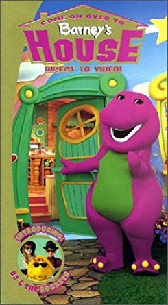 Come on Over to Barney's House VHS 2000 (2004 Reprint)