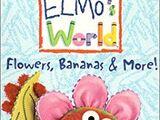 Elmo's World: Flowers, Bananas & More! VHS 2000