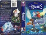 The Rescuers VHS 1999