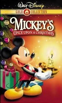 Mickey's Once Upon a Christmas VHS 2000