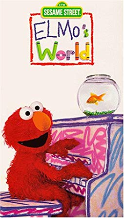 Elmo's World: Dancing, Music & Books VHS 2000