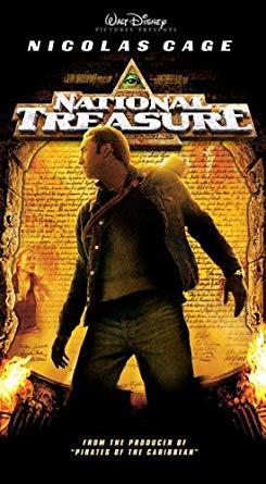 National Treasure VHS 2005