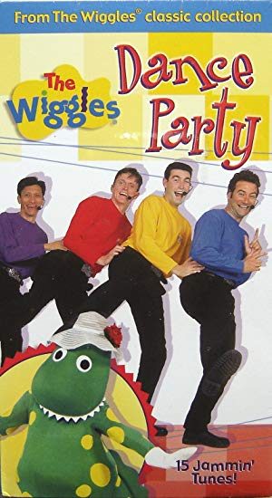 The Wiggles: Dance Party VHS 2004