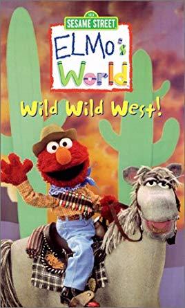 Elmo's World: The Wild Wild West VHS 2001