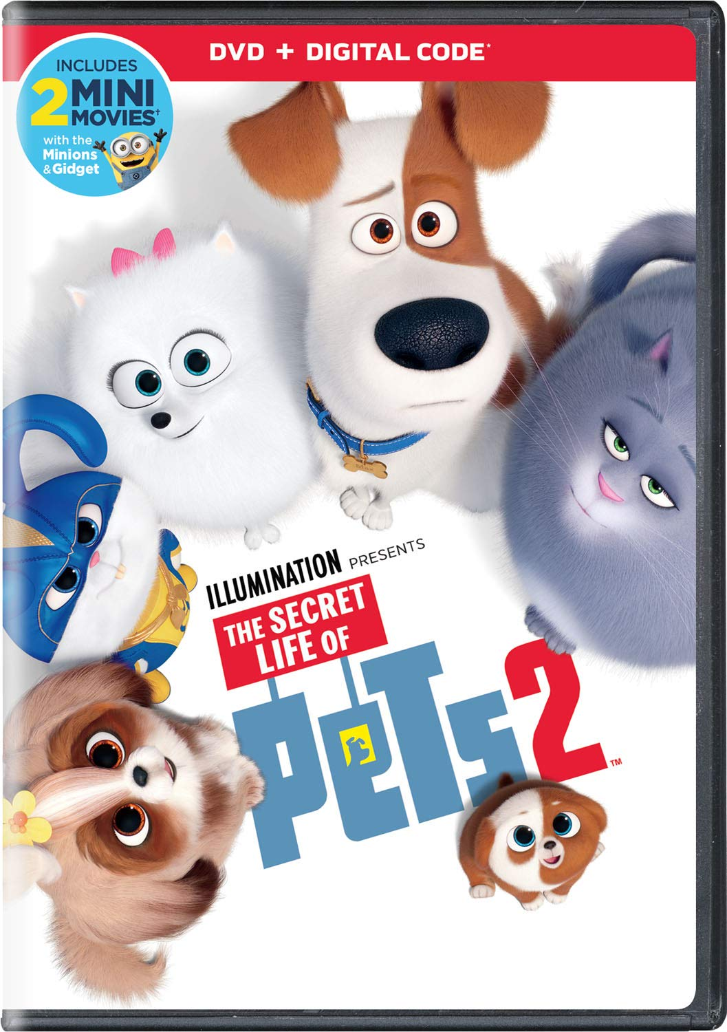 The Secret Life of Pets 2 DVD 2019
