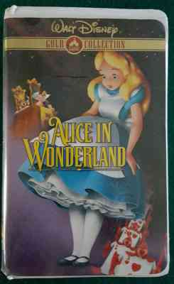 Alice in Wonderland VHS 2000
