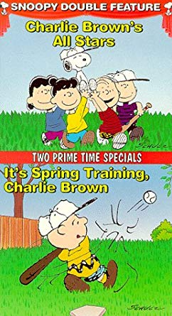 Charlie Brown's All Stars!/It's Spring Training, Charlie Brown! VHS 1995 (2000 Reprint)