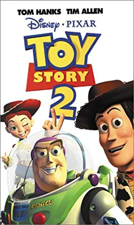 Toy Story 2 VHS 2000 (2001 Reprint)