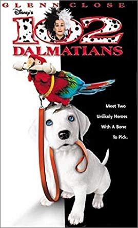 102 Dalmatians VHS 2001