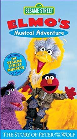 Sesame Street: Elmo's Musical Adventure VHS 2001