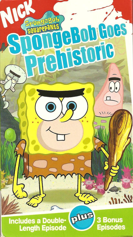SpongeBob SquarePants: SpongeBob Goes Prehistoric VHS 2004