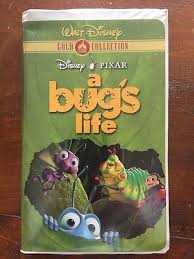 A Bug's Life VHS 2000
