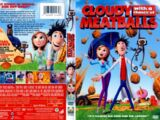 Cloudy with a Chance of Meatballs DVD 2010